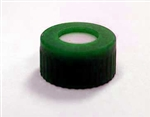 Cap Pak, Screw Green Ribbed PTFE/Sil Septa, 100/pkg