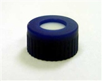 Cap Pak, Screw Blue w/ PTFE/Rubber Septa, 100/pkg