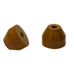 0.8mm ID Vespel Ferrule for Agilent GC Inlet (10/pk)
