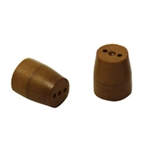 "1/16"" to 0.4mm 2 Hole Vespel Ferrule (10/pk)"