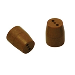 "1/16"" to 0.5mm 2 Hole Vespel Ferrule (10/pk)"