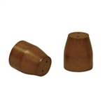 "1/8"" to 0.5mm 2 Hole Vespel Ferrule (10/pk)"