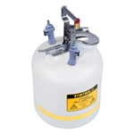 Justrite® 5-gallon PE can, PP / EPDM disconnect