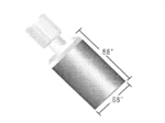 "Inlet Solvent Filter w/ Flangeless Fitt., 20µm, for 1/8""OD tubing"