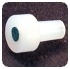 FILTER BOTTLE CAP PLUG FOR LUER HOLE, UHMWPE