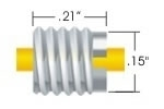 Flush Nut 1/16 SealTight Type