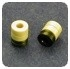 Filter Cap Assy 1µm Tan/2pk