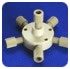 Manifold Assy 6 Port 1/8in