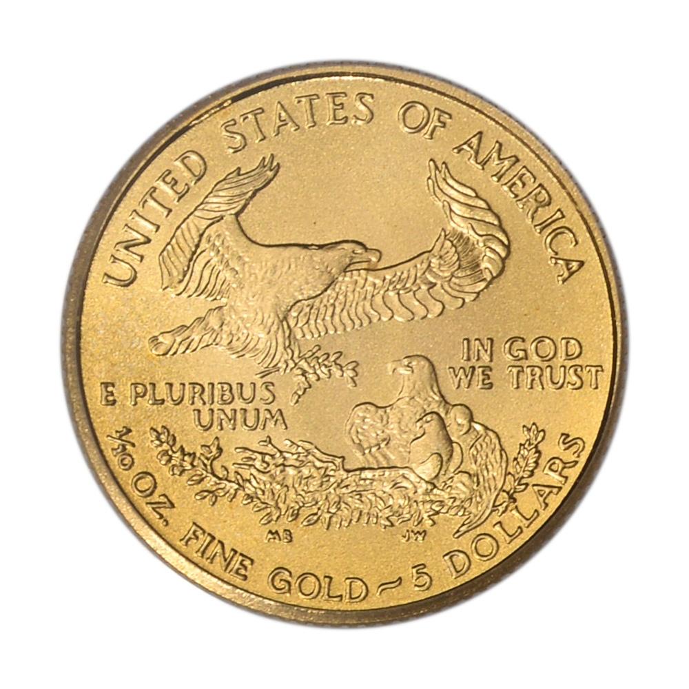 2003 American Gold Eagle 1//10 oz $5 BU