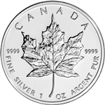 2003 Canada Silver Maple Leaf - 1 oz - $5 - BU