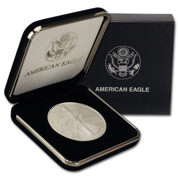 2004 American Silver Eagle in U.S. Mint Gift Box