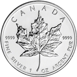2005 Canada Silver Maple Leaf - 1 oz - $5 - BU