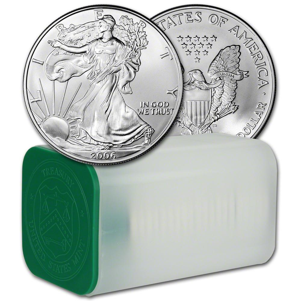 Oz 1 Roll Twenty 20 Bu Coins
