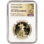 2006-W American Gold Eagle Proof 1 oz $50 - NGC PF70 UCAM - St. Gaudens Label