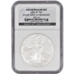 2006-W American Silver Eagle - Uncirculated Collectors Burnished Coin - NGC MS69
