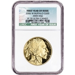 2006-W American Gold Buffalo Proof (1 oz) $50 NGC PF70 UCAM First Year of Issue