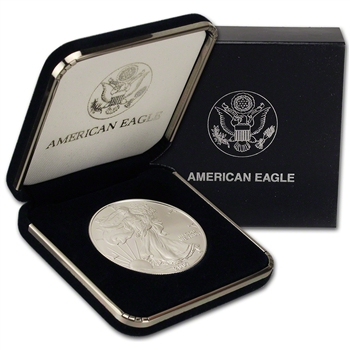 2007 American Silver Eagle in U.S. Mint Gift Box