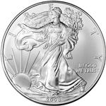 2008 American Silver Eagle - Brilliant Uncirculated