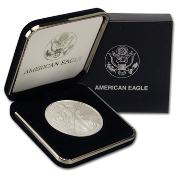 2008 American Silver Eagle in U.S. Mint Gift Box