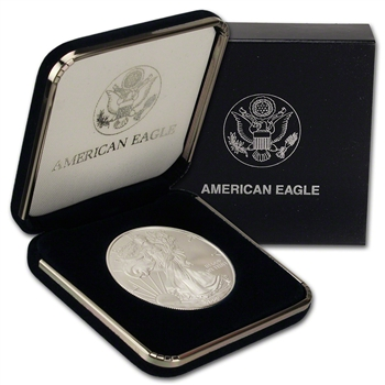 2009 American Silver Eagle in U.S. Mint Gift Box
