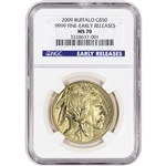 2009 American Gold Buffalo (1 oz) $50 - NGC MS70 - Early Releases