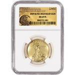 2009 US Gold $20 Ultra High Relief Double Eagle - NGC MS69 PL - UHR Label