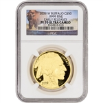2009-W American Gold Buffalo Proof (1 oz) $50 - NGC PF70 Early Releases Buffalo