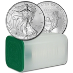 2010 American Silver Eagle (1 oz) $1 - 1 Roll - Twenty 20 BU Coins in Mint Tube