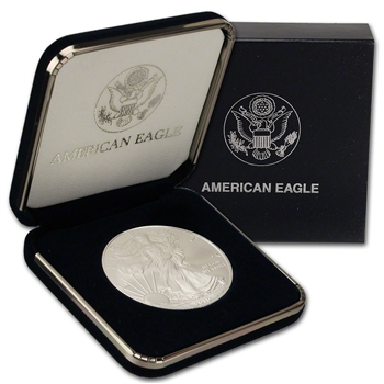 2010 American Silver Eagle in U.S. Mint Gift Box