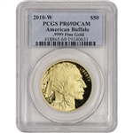 2010-W American Gold Buffalo Proof (1 oz) $50 - PCGS PR69 DCAM