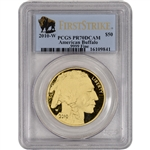 2010-W American Gold Buffalo Proof (1 oz) $50 - PCGS PR70 - First Strike Buffalo