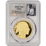 2010-W American Gold Buffalo Proof (1 oz) $50 - PCGS PR70 DCAM - Fraser Label