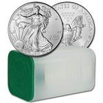 2011 American Silver Eagle (1 oz) $1 - 1 Roll - Twenty 20 BU Coins in Mint Tube
