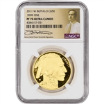 2011-W American Gold Buffalo Proof (1 oz) $50 - NGC PF70 Fraser Label