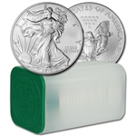 2012 American Silver Eagle (1 oz) $1 - 1 Roll - Twenty 20 BU Coins in Mint Tube