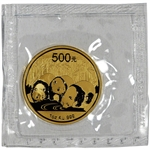 2013 China Gold Panda (1 oz) 500 Yuan - BU