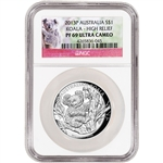 2013 P Australia Silver Koala High Relief Proof 1 oz $1 - NGC PF69 UCAM