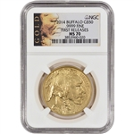 2014 American Gold Buffalo (1 oz) $50 - NGC MS70 - First Releases - Gold Label