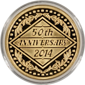 2014 Silver 1 oz. Medallion - 50th Anniversary