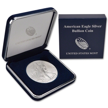 2015 American Silver Eagle in U.S. Mint Gift Box