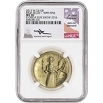 2015-W American Liberty Gold High Relief 1 oz $100 - NGC MS70 Mercanti Fun Show