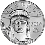 2016 American Platinum Eagle (1 oz) $100 - BU