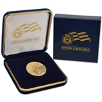 2017 American Gold Eagle (1/2 oz) $25 - BU coin in U.S. Mint Gift Box