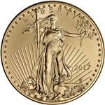2017 American Gold Eagle (1 oz) $50 - BU