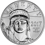 2017 American Platinum Eagle (1 oz) $100 - BU