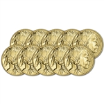 2017 American Gold Buffalo (1 oz) $50 - BU - Ten 10 Coins