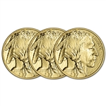 2017 American Gold Buffalo (1 oz) $50 - BU - Three 3 Coins