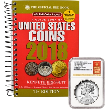 2017-P US American Liberty Silver Medal NGC PF70 Early Releases & 2018 Red Book