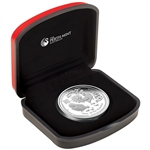 2017 P Australia Silver Lunar Year of the Rooster Proof (1 oz) $1 in OGP