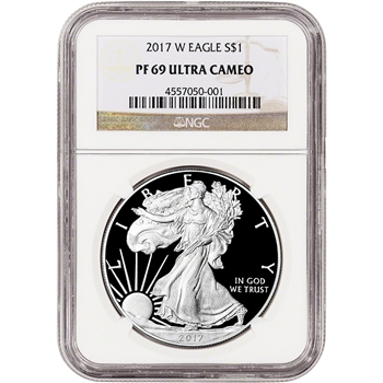 2017-W American Silver Eagle Proof - NGC PF69 UCAM